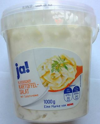 Klassischer Kartoffelsalat - Produkt