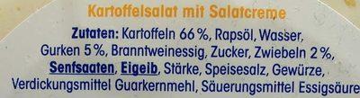 Klassischer Kartoffelsalat - Zutaten