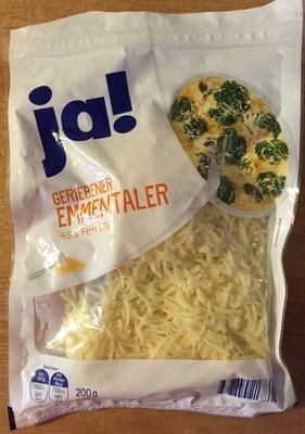 Geriebener Emmentaler - Product - de