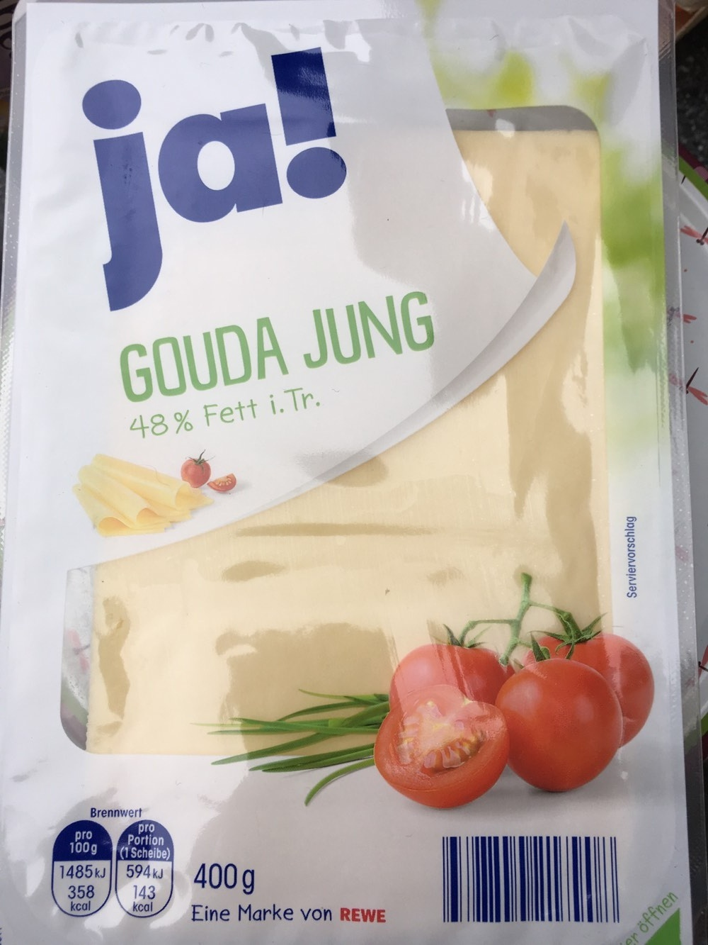 Gouda Jung 48% Fett i. Tr. - Product - de
