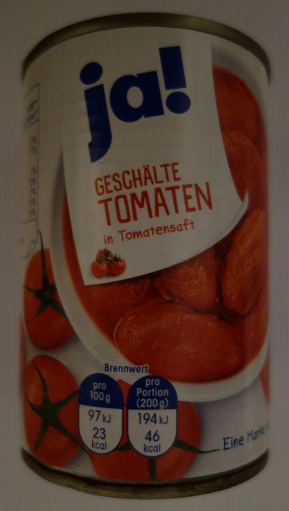 Geschälte Tomaten in Tomatensaft - Produkt