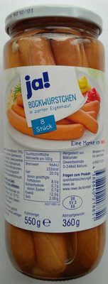 Bockwürstchen - Produkt - de