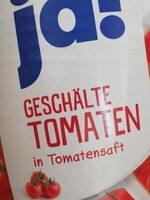 Geschälte Tomaten in Tomatensaft - Produkt - de