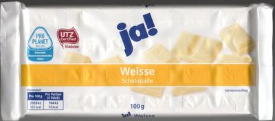 Weisse schokolade - Produkt