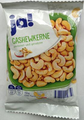 Cashewkerne geröstet und gesalzen - Product - de