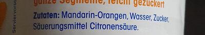 Mandarinen - Ingrédients - de