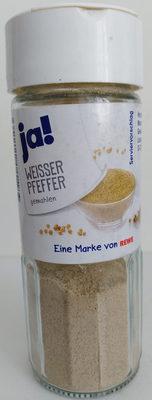 Weisser Pfeffer gemahlen - Product - de