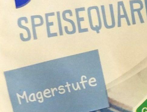 Speisequark Magerstufe - Ingrédients - de