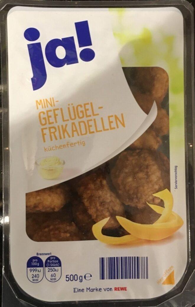Mini Geflügel-Frikadellen - Product - de