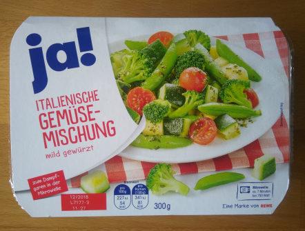 Italienische Gemüsemischung mild gewürzt - Produit - de