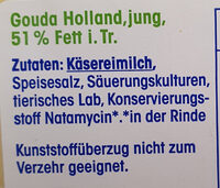 Ja! Gouda Holland jung - Ingrediënten - de