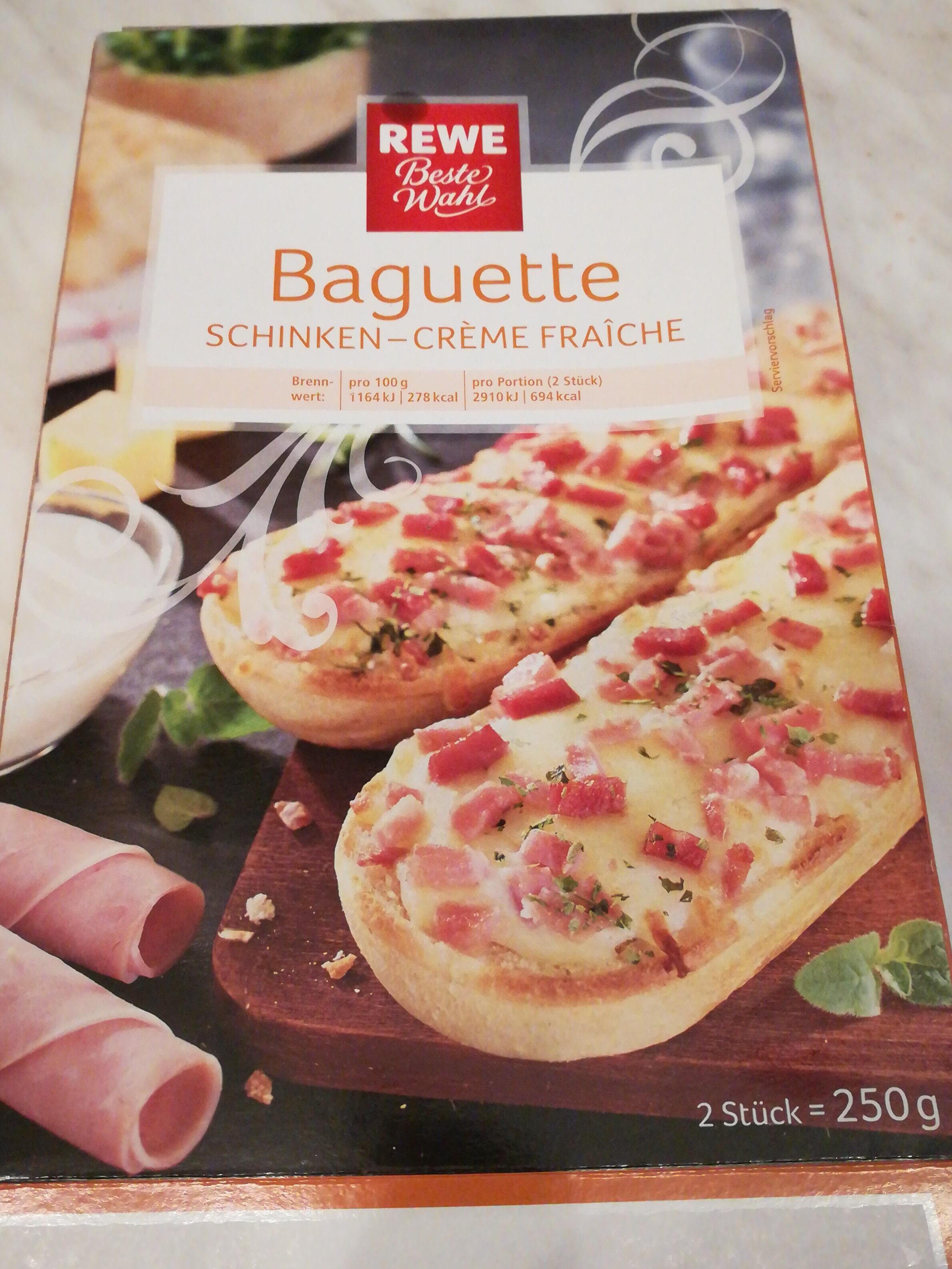 Baguette Schinken-Creme fraiche - Product - de