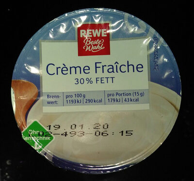 Rewe Creme Fraiche - Produit