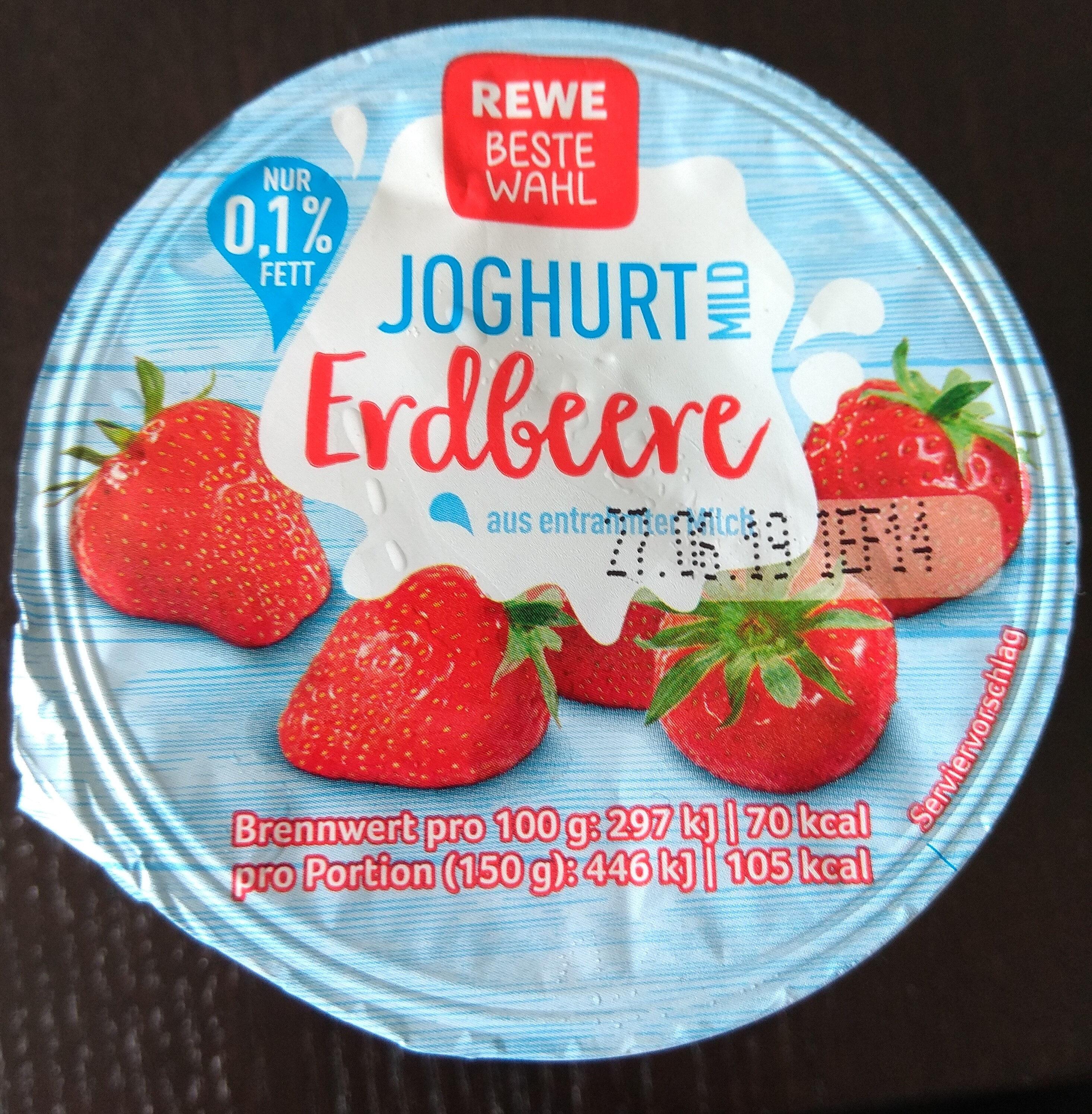 Jogurt Erdbeere - Product