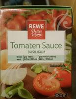 Tomaten Sauce Basilikum - Product - de