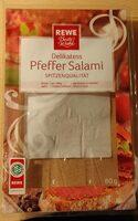 Delikatess Pfeffer Salami - Product - de
