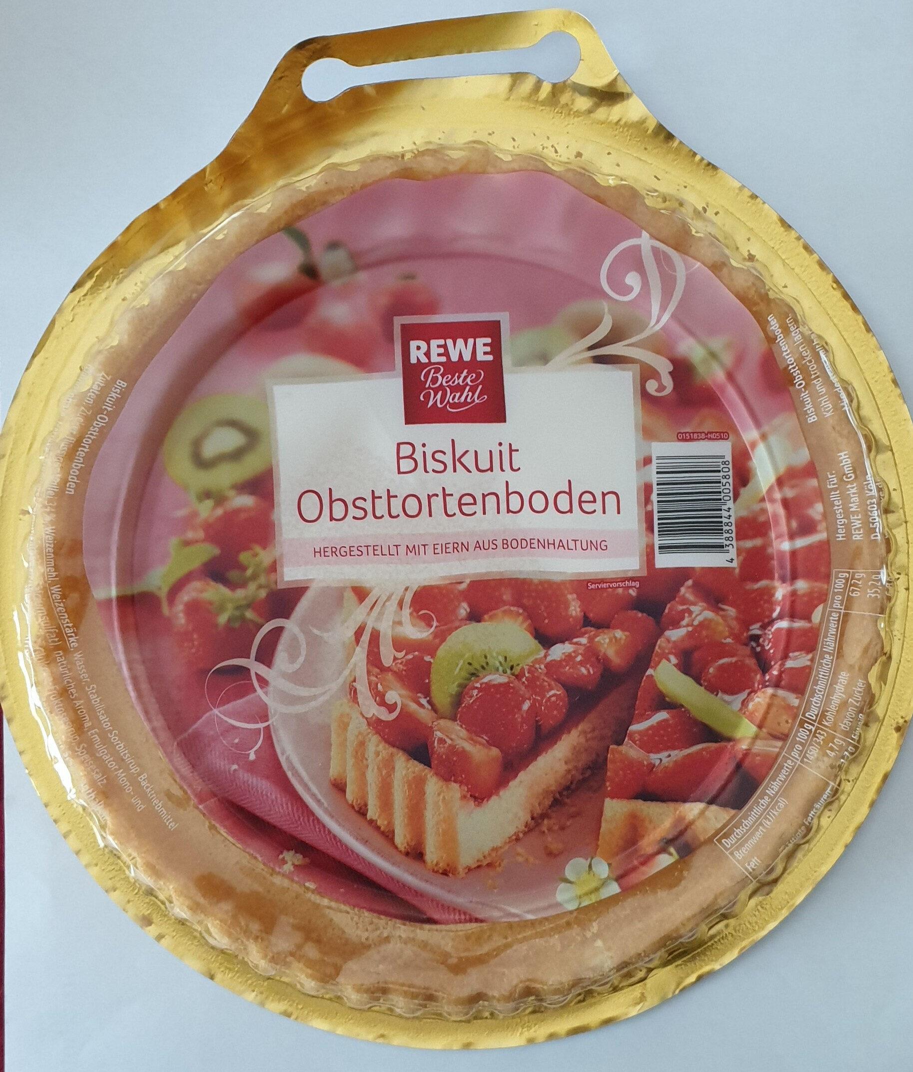Biskuit Obsttortenboden Rewe 300 G