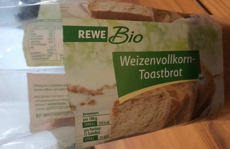 Weizenvollkorn-Toastbrot - Product