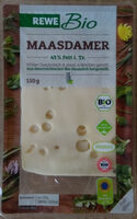 Maasdamer Käse aus Bio-Heumilch - Produkt - de