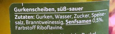 Brotzeit Gurken - Ingredients - de