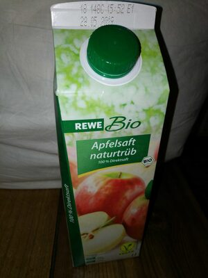 Bio Apfelsaft Naturtrüb, 100% Direktsaft Mild - Produit