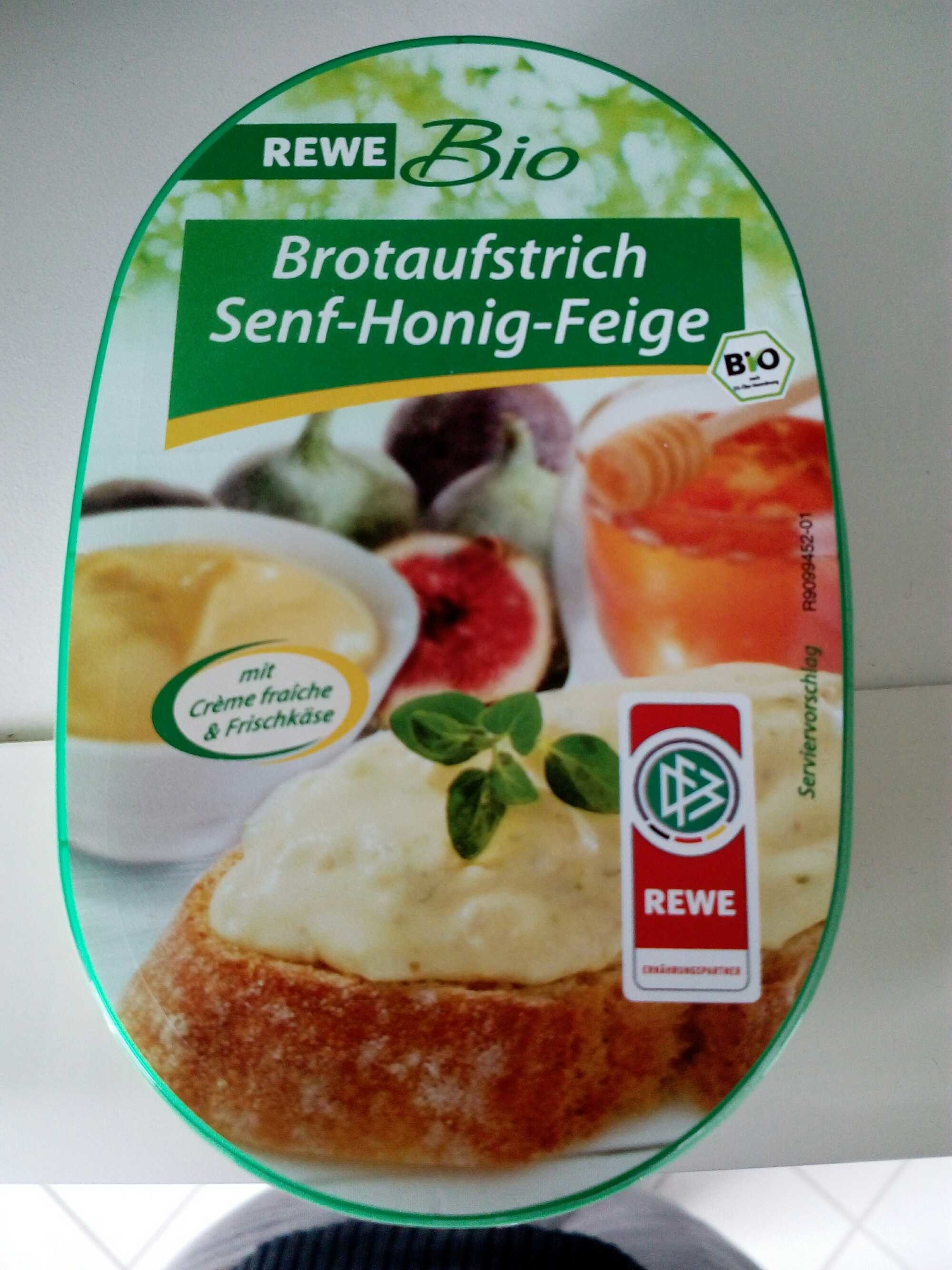 Brotaufstrich Senf-Honig-Feige - Product