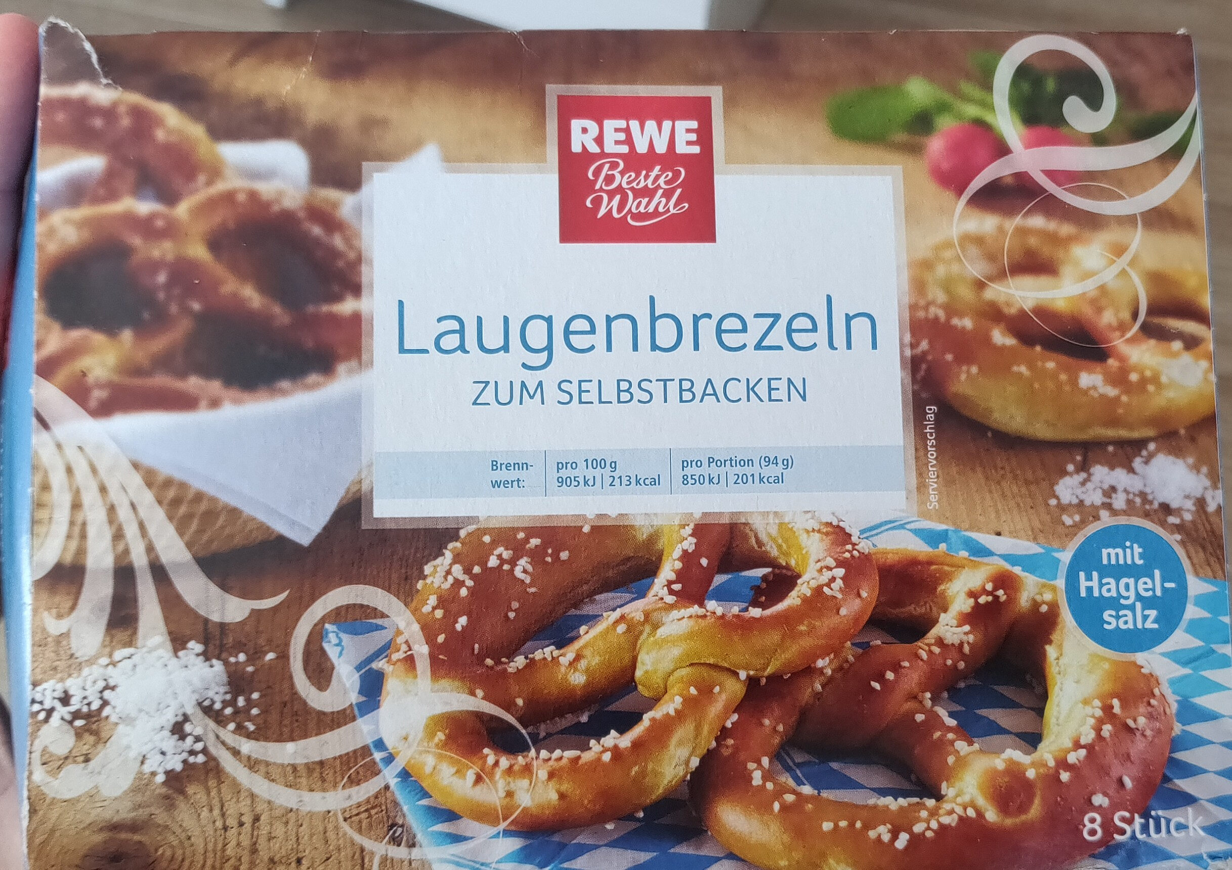 REWE Laugenbrezeln - Product