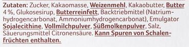 Schokokeks zartbitter - Ingrediënten