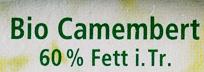 Camembert 60% Fett i. Tr. - Ingrediënten - de