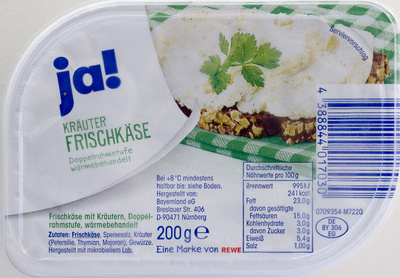 Kräuter Frischkäse - Produit - de