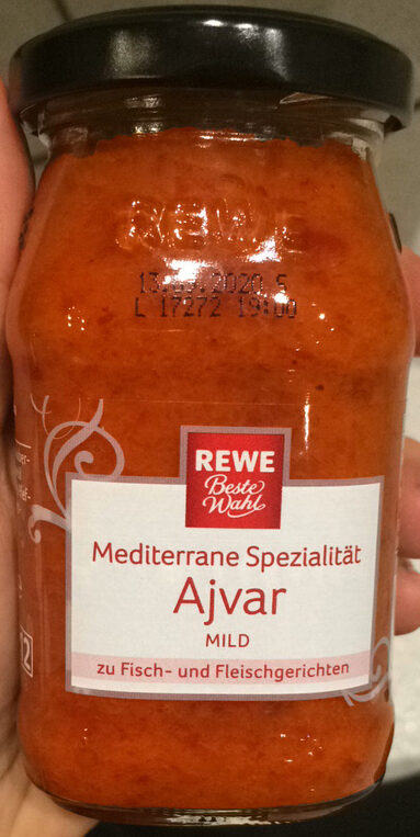 Ajvar mild - Produit - de