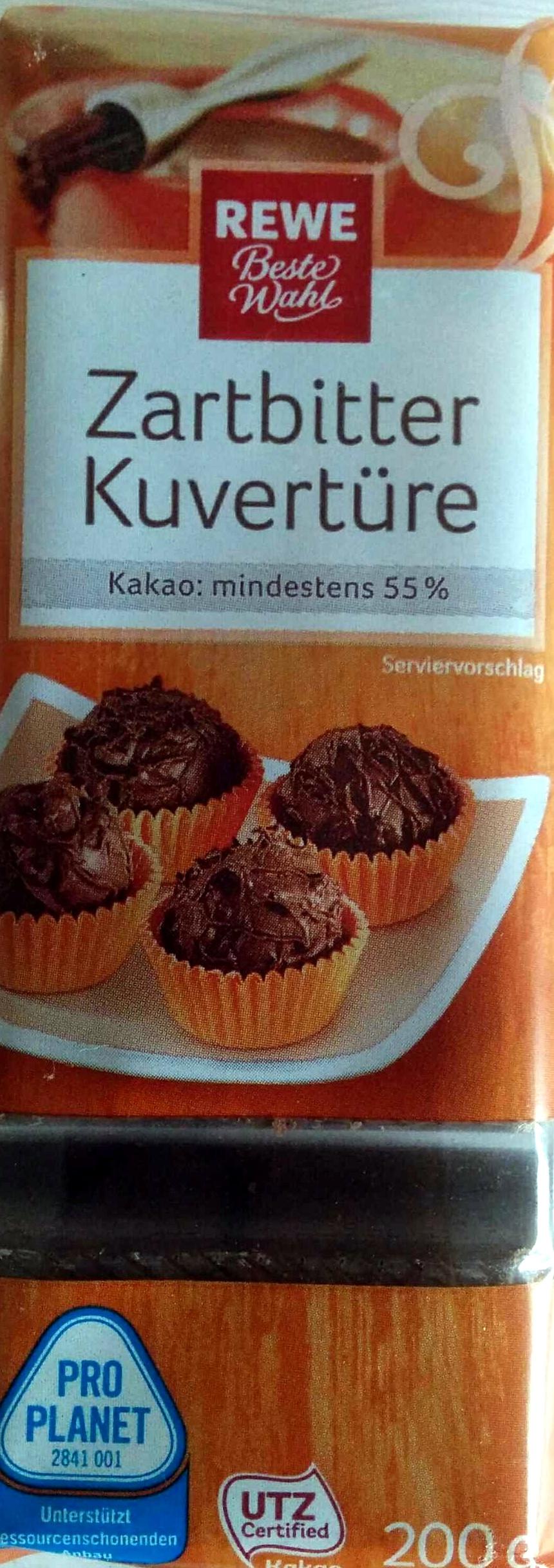 Zartbitter Kuvertüre - Produit