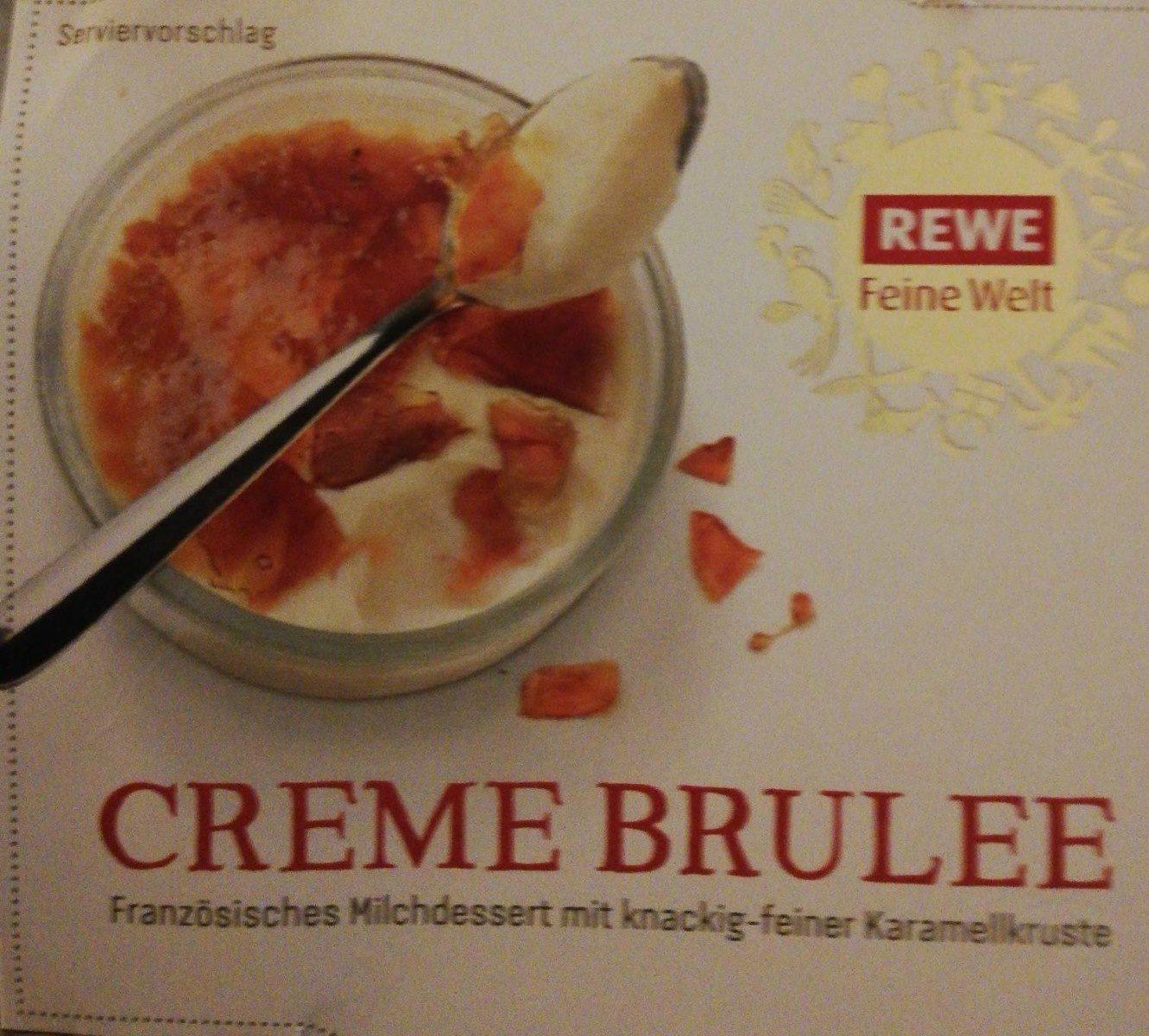 Crème Brûlée - Produit - de
