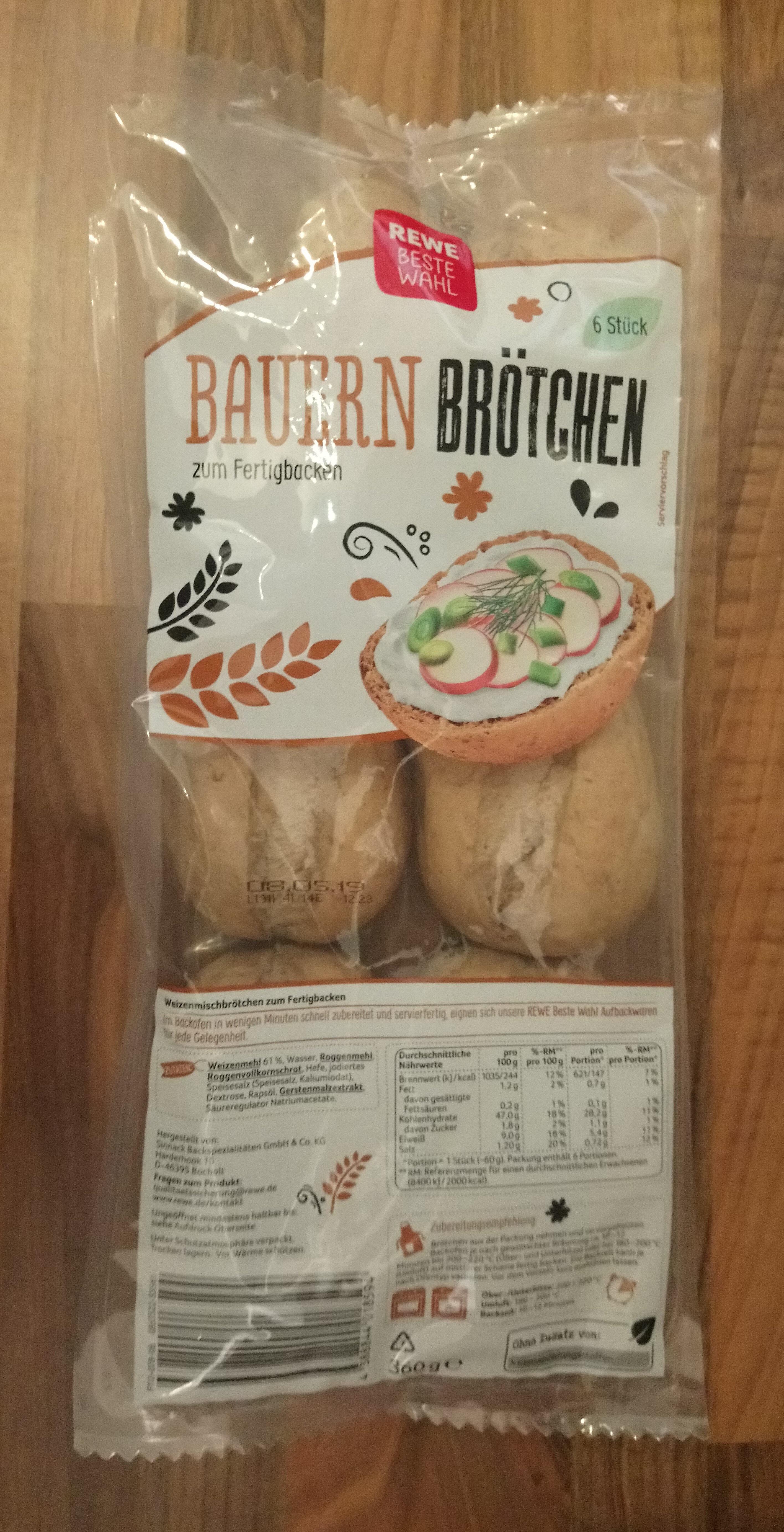 Bauern Brötchen - Produit - de