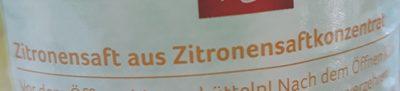 Zitronensaft - Ingrédients - fr