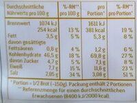 Ciabatta - Königliche Olive - Nährwertangaben - de