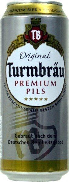 Original Turmbräu Premium Pils 0, 5L - Product - de