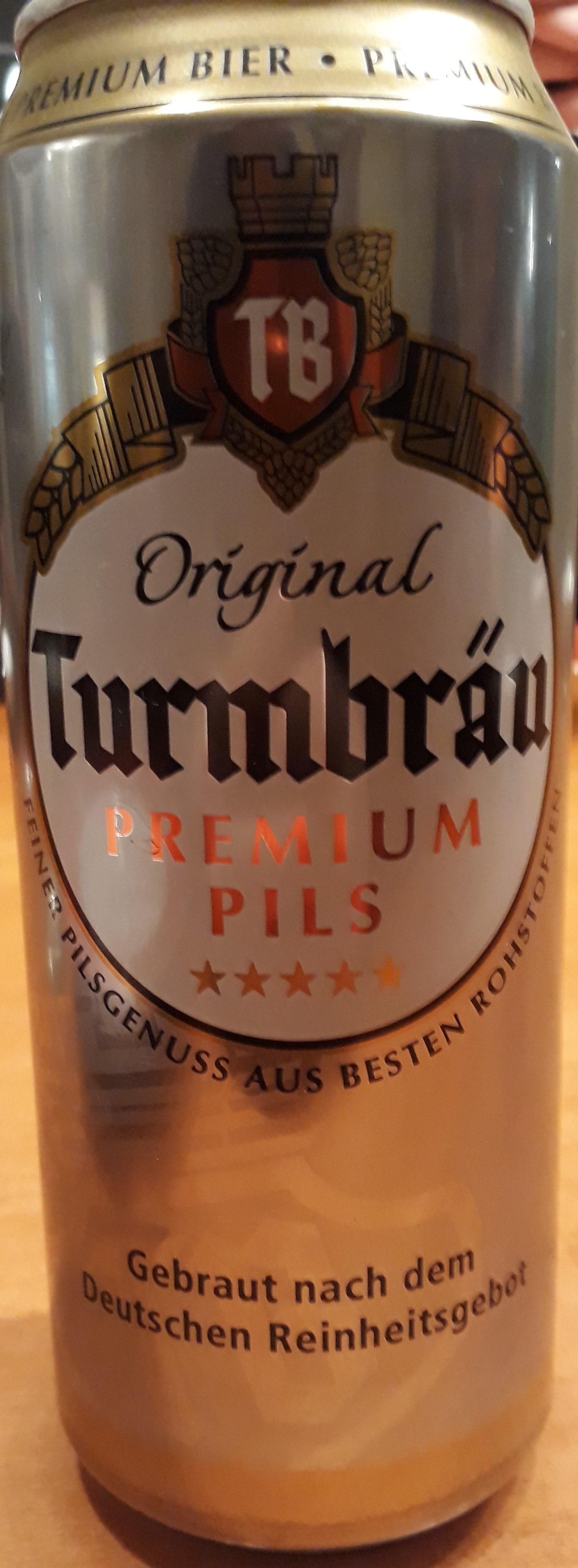 Original Turmbräu Premium Pils - Product