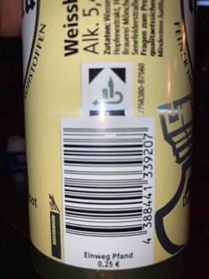 Original Turmbräu Premium Pils 0, 5L - Recyclinginstructies en / of verpakkingsinformatie - de
