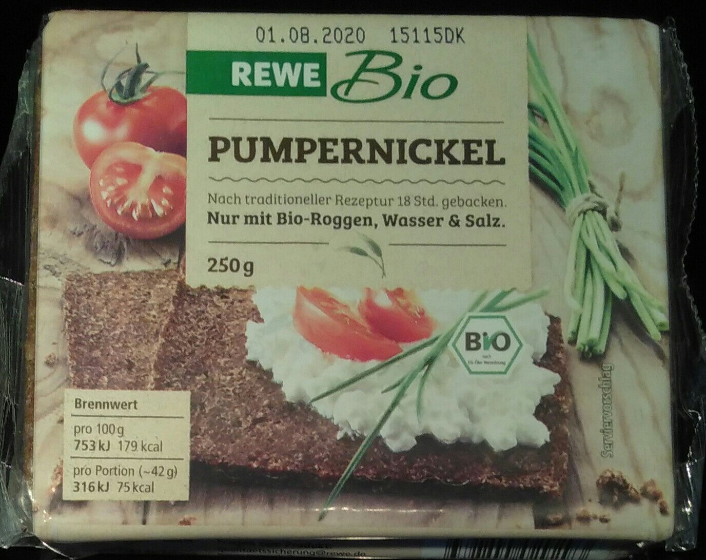 Pumpernickel - Product