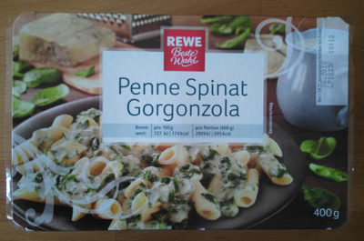 Penne Spinat Gorgonzola - Product