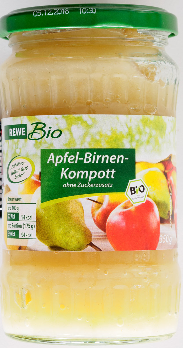 Apfel-Birnen-Kompott - Product