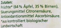 Apfel-Birnen-Kompott - Ingrediënten
