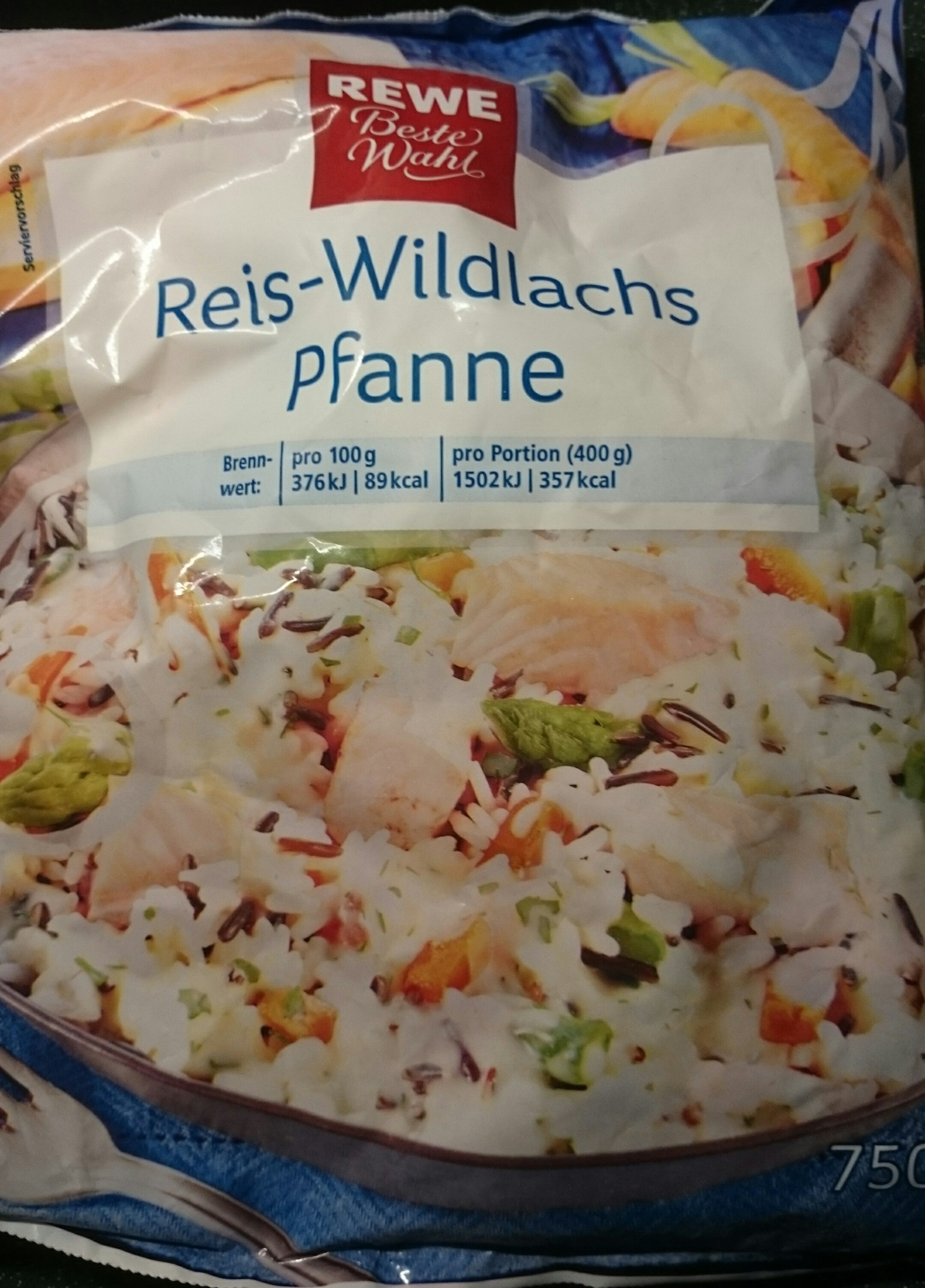 Reis-Wildlachs-Pfanne - Produit - de