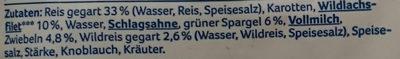 Reis-Wildlachs-Pfanne - Ingrédients - de