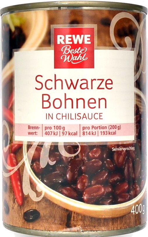 Schwarze Bohnen in Chilisauce - Product - de