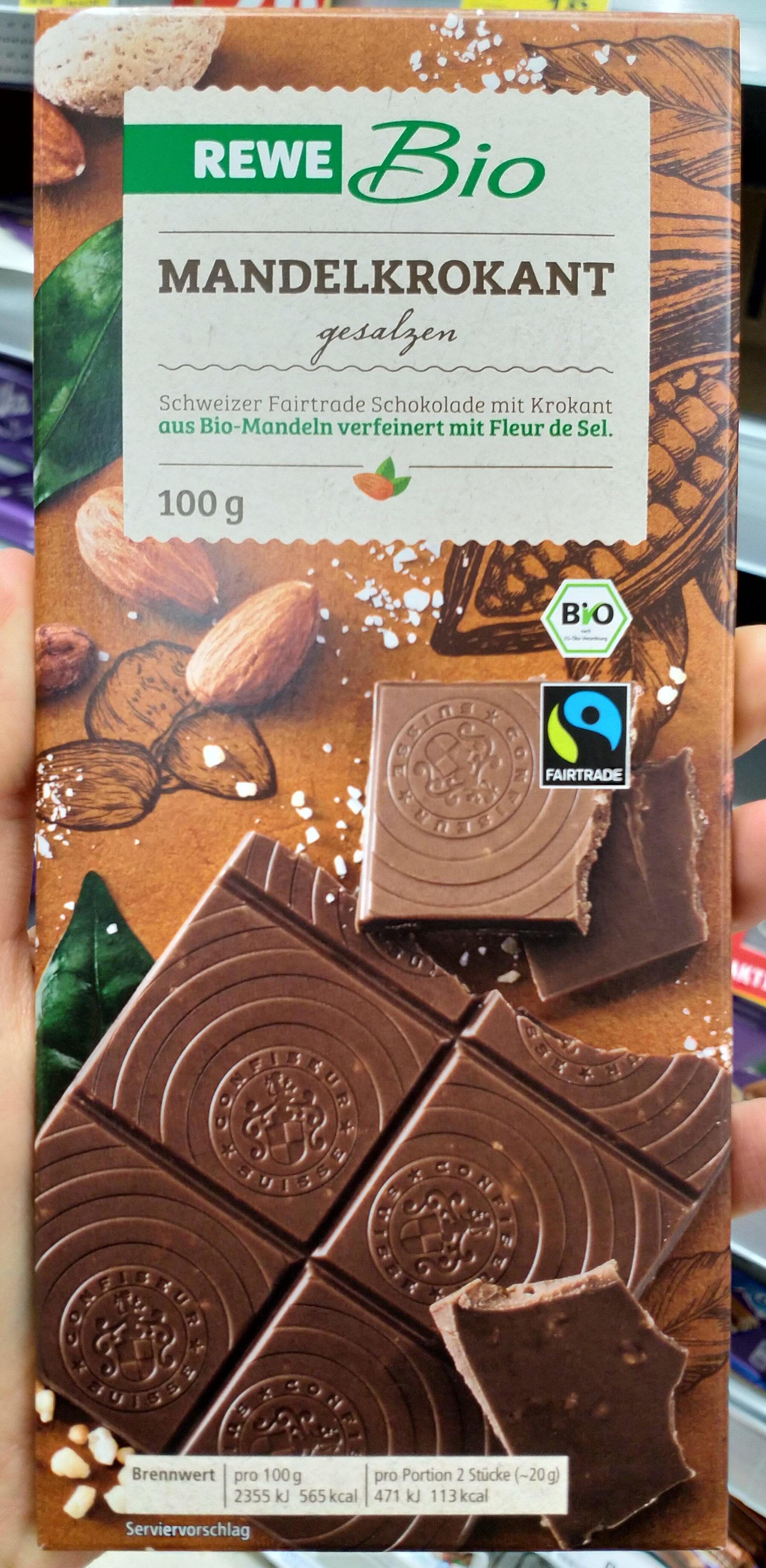 Mandelkrokant-Schokolade - Produkt - de