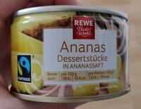 Ananas Dessertstücke in Ananassaft - Produit - de