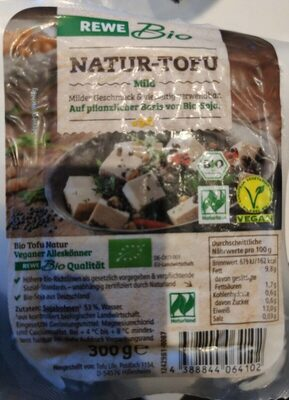Tofu Natur Bio, Rewe - Produkt - de