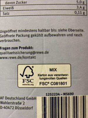 Fettarme H-Milch Laktosefrei - Wiederverwertungsanweisungen und/oder Verpackungsinformationen - de